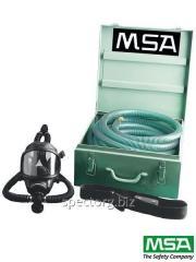 Hose respiratory device of fresh MSA TURBO-FLO air