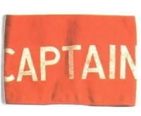 Bandages are captain's