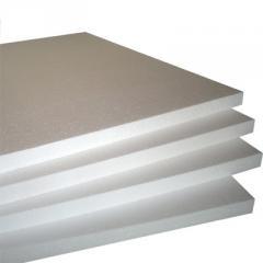 Sheet polyfoam of 50 mm, 15th brands