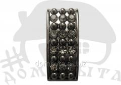 Trench with ornament 36057 dark nickel