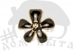 Ornament with stones 012049 black