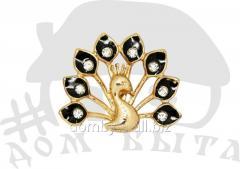 Ornament with stones 012124 black