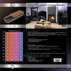 Внутрипольный конвектор с естественной конвекцией FC 09, конвектора отопительные, обогреватели, напольное отопление, отопительное оборудование.