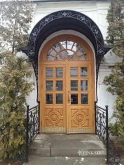 The door is church