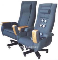 Chair massage Leader, kaprovelyur (neck, back,