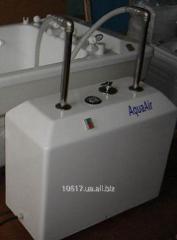 Device underwater dos massage Aquaeir