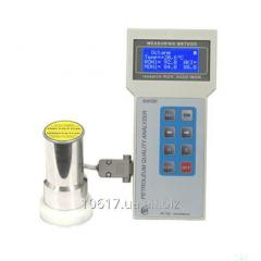 Analyzer of quality of gasoline and diesel fuel