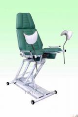 Chair gynecologic (mechanical adjustment of
