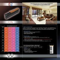 Внутрипольный конвектор с естественной конвекцией FCFN, конвектора отопительные, обогреватели, напольное отопление, отопительное оборудование.
