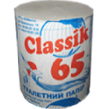 Туалетная бумага Classik 65