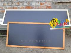 Cretaceous board in a light frame of 160Х80 cm