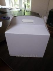 Box for CAKE (white color) 250 x 250 x 150