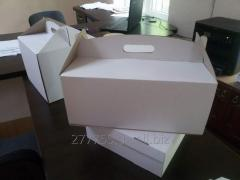Коробка для ТОРТА (белого цвета) 310 х 410 х 180