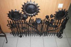 Декоративные изделия из металлов. Кованные