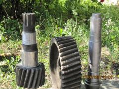 Зубчатые колеса, вал-шестерни, муфты