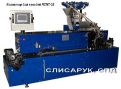 The automatic machine for welding of nails on a