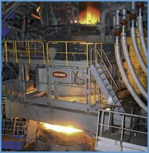 Chipboards arc steelmaking furnaces