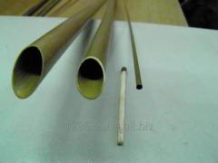 Pipes brass from 2х0,5 to 10x0,5 mm. WEBSITE