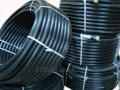 Пластиковая ПЭ полиэтиленовая труба от 8мм до