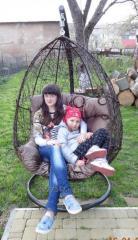 Подвесное кресло, качеля Шоко Нюська + стойка