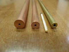 Pipes with the exact internal channel from copper,