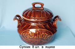 Изделия для домашнего хозяйства керамические для