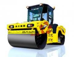 Cars for construction of coverings of highways.