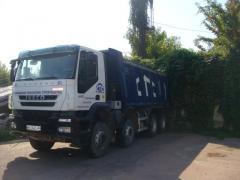 Dump trucks for transportation of bulks. Sale,