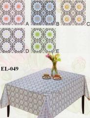 Cloth oil-cloth on Azhur Leys table, the Code: