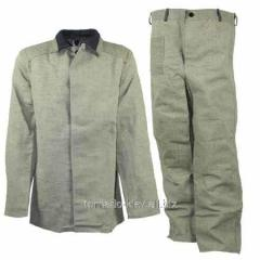 Protective clothing for welders