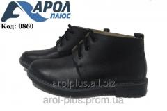 Classical orthopedic boots for the boy (40-46