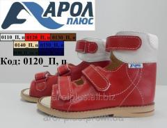 Orthopedic sandals for children available