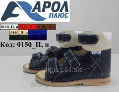 Orthopedic sandals for boys and girls