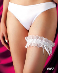 Garter female on a leg, lingerie from TM Anabel