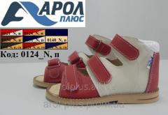 Treatment-and-prophylactic sandals for children