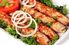 Kebab (for shawarma, a toner kebab)