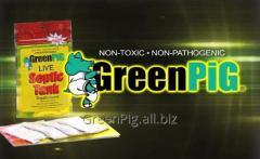 Биопорошок для туалетов и выгребных ям  GreenPig