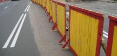 Забор строительный временный 1х2м