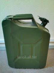 Canister of metal 20 l