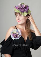 Шляпка-цветок