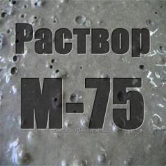 M-75 cement mortar