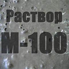 M-100 cement mortar