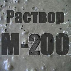 M-200 cement mortar