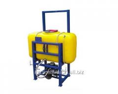 Sprayer of hinged OPN-1