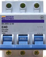 Выключатель автоматический ВА-2001 3Р
