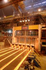 Slyabovy machines of continuous casting of