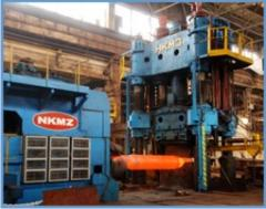 Press hydraulic forging