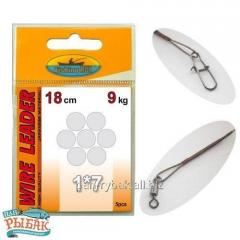 Lead with a fastener of 1х7 Wire Leader Fishing