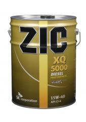 ZIC motor oil, ZIC XQ 5000 10W-40 synthetic engine
