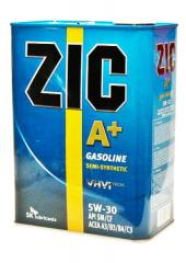 Semi-synthetic oil, ZIC A+ SAE 5W-30 motor oil